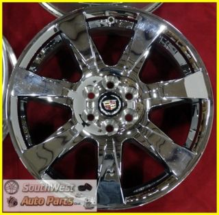 SRX 20 6x120mm Chrome Clad Wheels Used Factory Set Rims 4666