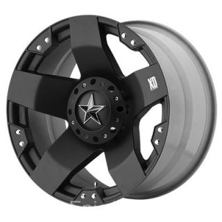 20 XD Rockstar Wheels 35 Nitto Trail Grappler 8 Lug