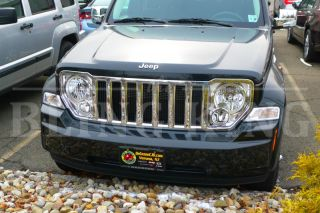 2012 Jeep Liberty Chrome Grille Insert Grill Trim 2008 2009 2010 2011