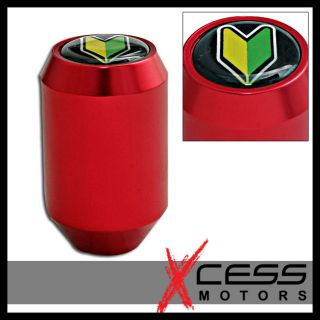 Honda Civic CRX Integra JDM Red Shift Knob Twist on New