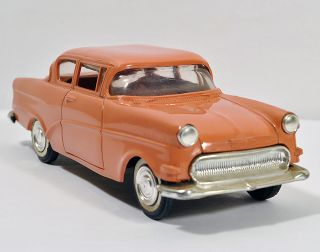 1959 60 Opel Rekord 2 Door Sedan 1 25 Plastic Metal Promo Model