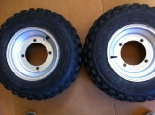 FRONT WHEELS AND TIRES 21x7x10, 4/156  YAMAHA BLASTER, BANSHEE YFZ ATV