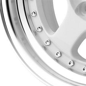 New 15x7 5 4x100 Konig Candy White Wheels Rims