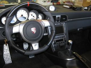 Porsche 997 Carrera Turbo s Steering Wheel Carbon Set