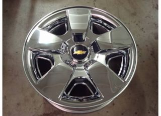 20 Chevy Silverado Wheel Rim 08 11 10 Lt LTZ Chrome