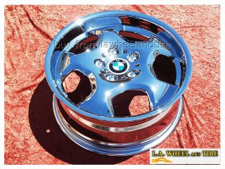 BMW M3 E36 M Contour Chrome 17 Wheels Rims Exchang