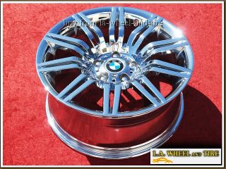 New 19 BMW 550i Sport E60 M5 Chrome Wheels Rims Exchange 59554