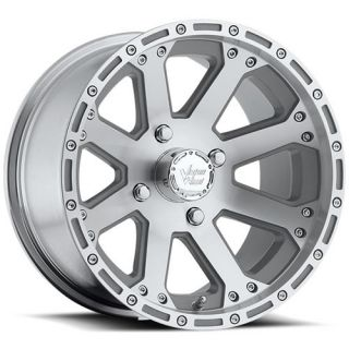 12x8 Machined Wheel Vision Outback 159 ATV 4x115