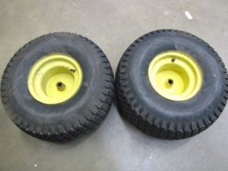 John Deere 160 165 170 175 180 185 20 x 10 00 8 Rear Wheels Tire Set