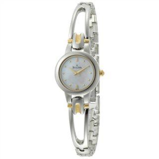 Bulova Womens 98L141 Mother of Pearl Dial Bracelet Watch