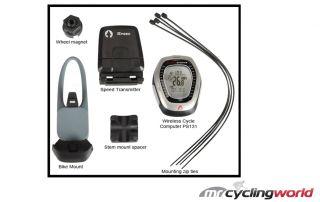 Alpha Sports Wireless Cycling Bike Computer Speedo PS131