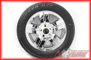 New 20 Chevy Silverado Tahoe LTZ Chrome GMC Yukon Sierra Wheels