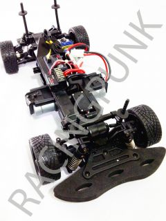 RC 1 10 EP Electric Car 4WD RTR Touring Fits TL01 Black