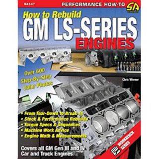 SA Design Book How to Rebuild GM LS Series Engines 152 Pages
