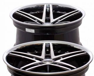 20 Rohana RC5 Wheels Concave Machined with Chrome Lip Infiniti G35