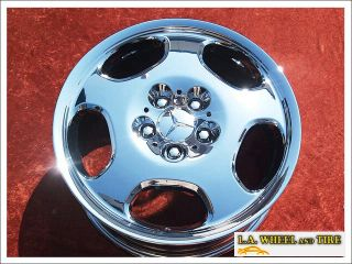NEW 17 MERCEDES BENZ E430 E320 OEM CHROME WHEELS RIMS 65237 EXCHANGE