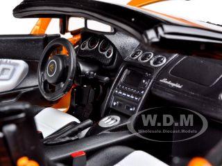 Lamborghini Gallardo Spyder Orange 1 18 Model Car