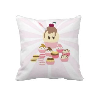 Cute candy pillow