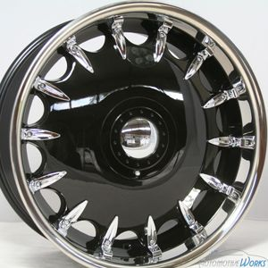 20 Fusion Black Wheels Rims inch Mercedes Audi s CLS