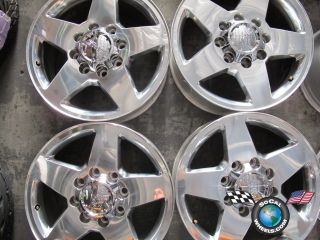 2011 GMC HD 2500 Factory 20 Wheels Chevy Forged 8x180 5503 Rims