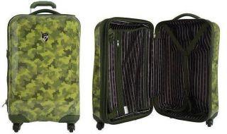 Heys 21 Exotic 4WD Spinner Epandable Luggage Case Camouflage Camo