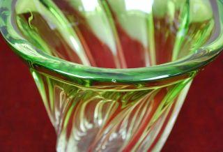 Beautiful Val Saint Lambert Crystal Vase Belgium