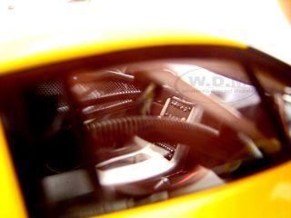 Chevrolet Corvette C6R Plain Body Yellow 1 18 Autoart