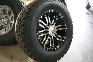 33x12 50 18 Eagle General Grabber AT2 Wheels Rims Tires