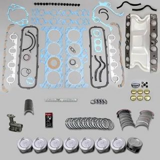 Fed Mogul Engine Rebuild Kit Ford 460 030 Bore Stock Rods 010 Mains