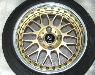 WORK VS XX 14 6.5J +26 Alloy RIMS Wheels 4x100 RX4 CIVIC 626 MX5