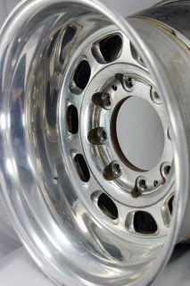Polished 16 5x10 Weld Racing Sidewinder Wheels 8x170 16mm