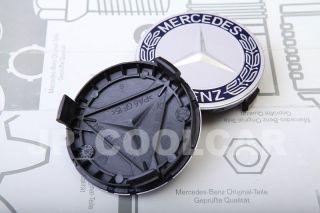 X4 Genuine Mercedes Benz Wheel Center Caps s Class W140 W220 W221 S500
