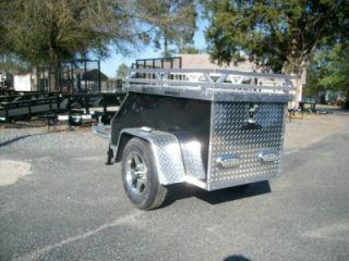Aluminum Motorcycle Pull Behind Trailer Tag Along 2011