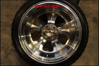 MUSTANG FOOSE WHEELS 18 X 8.5 & 10 STAGGERED W/ TIRES 275/35 ZR & 245