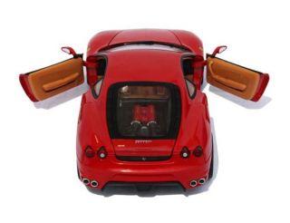 Ferrari F430 Hot Wheels 1 18 Scale Diecast Model Car Red