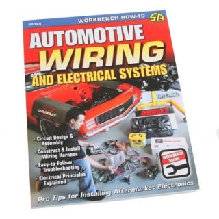 SA Design Book Automotive Electrical and Wiring Systems 144 Pages