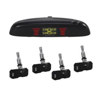 New LCD Display TPMS Tire Pressure Monitor System with 4 Sensors