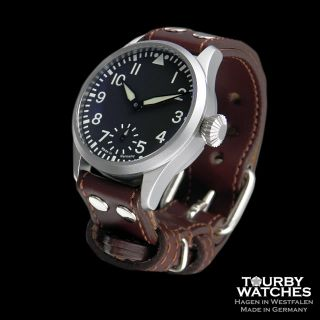 Tourby Aviator BB4C Pilot ETA Unitas 6498 2 Top Grade