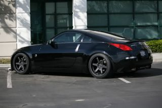 T37 Concave Style Matte Black Wheels Rims Fit Nissan 370Z 350Z