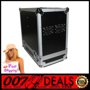 EV QRX212 75 FLIGHT & ROAD TRANSPORT CASE EV QRX 212/75 DJ PA SPEAKERS