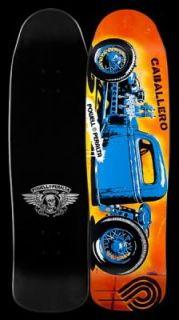 Powell Peralta Caballero Blue Hot Rod Skateboard Deck