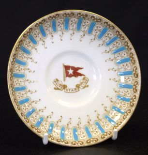 Original White Star Line China Cup Saucer Titanic