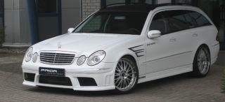Mercedes W211 E Class Front Bumper E55 E63 E500 AMG