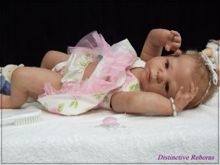 Distinctive Reborns Prototype New Softline Reborn Baby Girl Doll