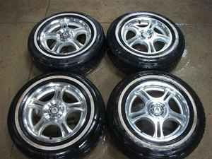 American Racing 15 Wheels Rims 5 Spoke w Tires LKQ