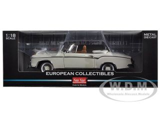 1958 Mercedes 220SE Open Convertible White 1 18 Diecast Car Model