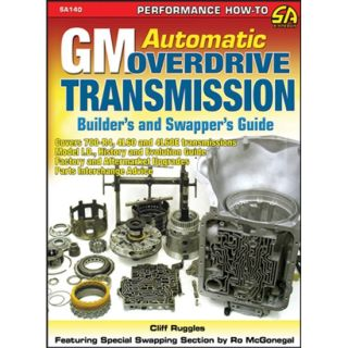 New GM Automatic Overdrive Transmission Builders Swappers Guide Book