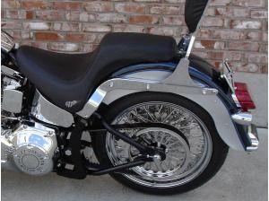 Tilt License Plate Bracket Part Harley Fatboy Heritage