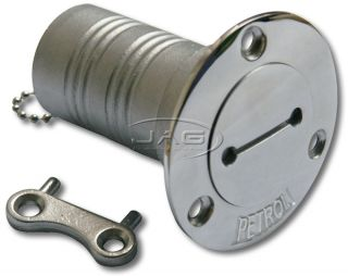 316 Marine Grade Stainless Steel Fuel Boat Deck Filler Key Petrol Deck