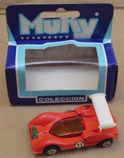 Muky Chaparral 2G 2 Hot Wheels Redline Matrix Mold Argentina